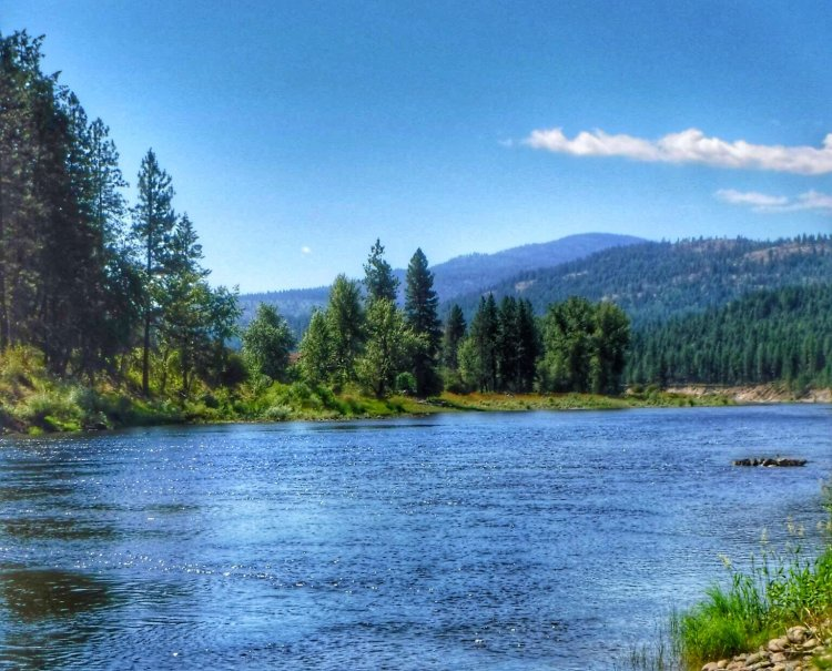 Kettle River, Colville National Forest
