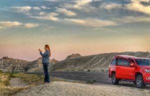 Jen in the Badlands
