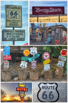 Route 66 Collage