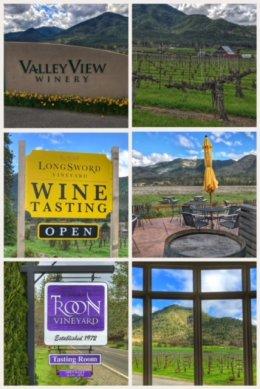 Applegate Wine Trail wineries