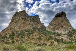 Twin Sisters, City of Rocks NR