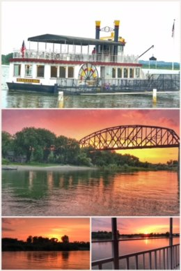 Lewis Clark Sternwheeler Riverboat