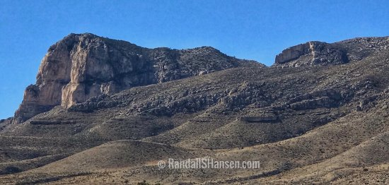 Guadalupe Mountains National Park - El Capitan