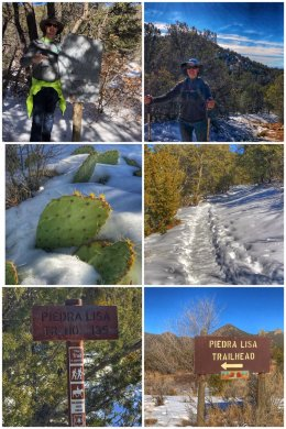 Piedra Lisa Trail, Cibola National Forest