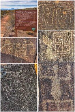 Petroglyphs at Three Rivers, NM