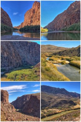 Rio Grande River, Big Bend, Texas