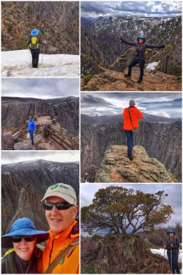 Black Canyon of the Gunnison National Park -- selfies
