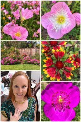 Mom memorial blooms