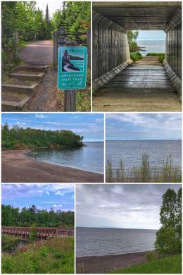 Gitchi Gami Trail, Lake Superior
