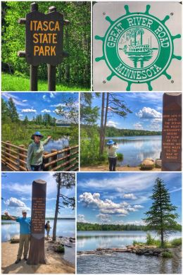 Itasca State Park, Mississippi Headwaters