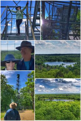 Aiton Heights Fire Tower Trail, Itasca State Park