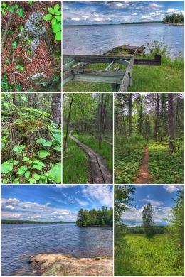 Voyageurs National Park hiking