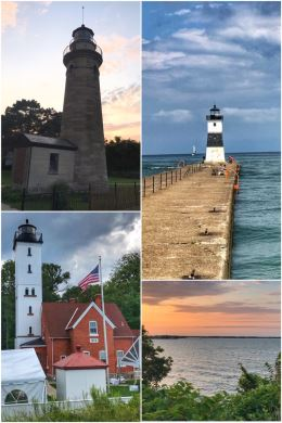 Erie PA lighthouses