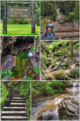 Buttermilk Falls State Park