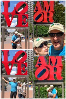 LOVE, AMOR Sculptures