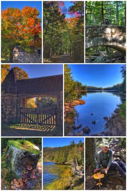 Acadia National Park, Hadlock Ponds, Carriage Roads