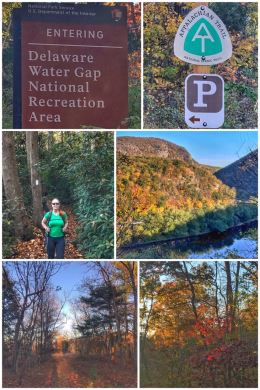 Delaware Water Gap National Recreation Area, Appalachian Trail