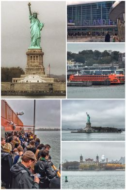 Statue of Liberty, Staten Island Ferry