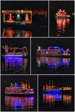 DeLand St. John's River Christmas Boat Parade