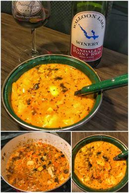 Ran's Thai Turkey Curry, Thanksgiving 2019