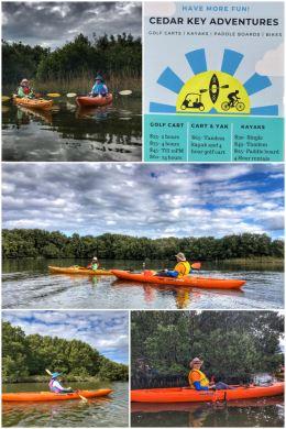 Cedar Keys kayaking