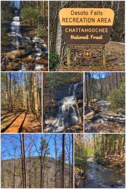 Desoto Falls, Chattahoochee National Forest