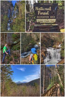 Dukes Creek Falls, Chattahoochee National Forest