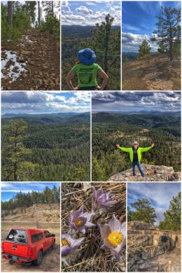 Black Hills National Forest: Buzzards Roost