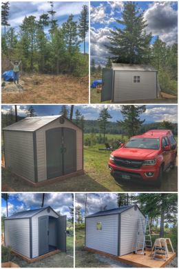 H3 storage shed